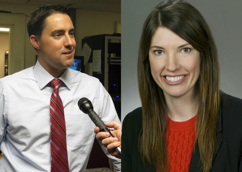 Republican Sen. Frank LaRose (left) and democratic Rep. Kathleen Clyde (right) agree that more transparency is needed in campaign finance.