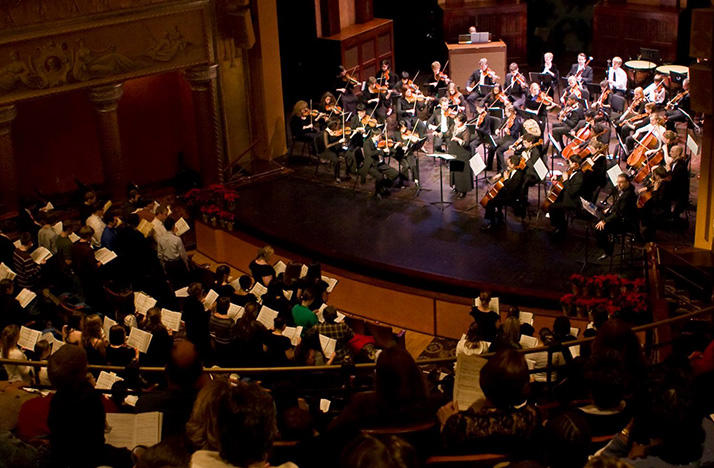 ProMusica Chamber Orchestra's annual 'Messiah' sing-along is at 7:30 p.m. Friday, Dec. 8 at the Southern Theatre.