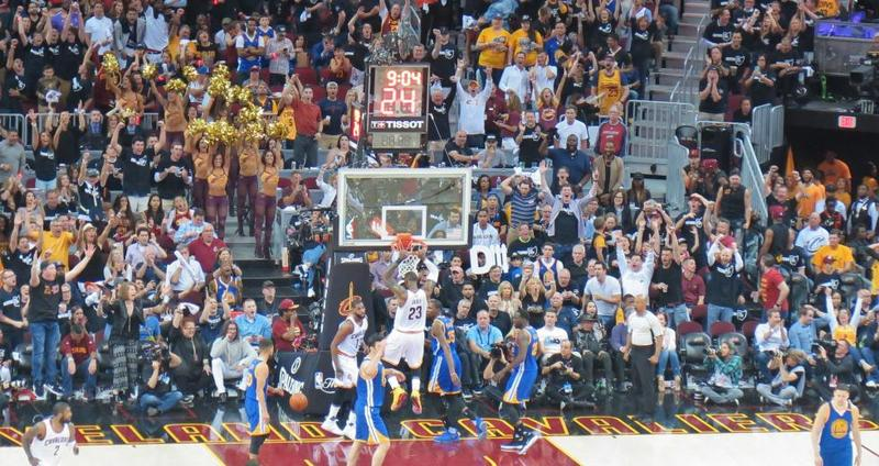 The Cavaliers set records in dominating the Warriors in Game 4 of the NBA Finals. But it was their only win.