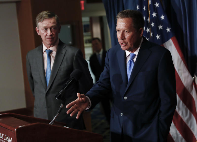 Ohio Gov. John Kasich and Colorado Gov. John Kickenlooper teamed up to introduce bipartisan proposals for reforming health care.