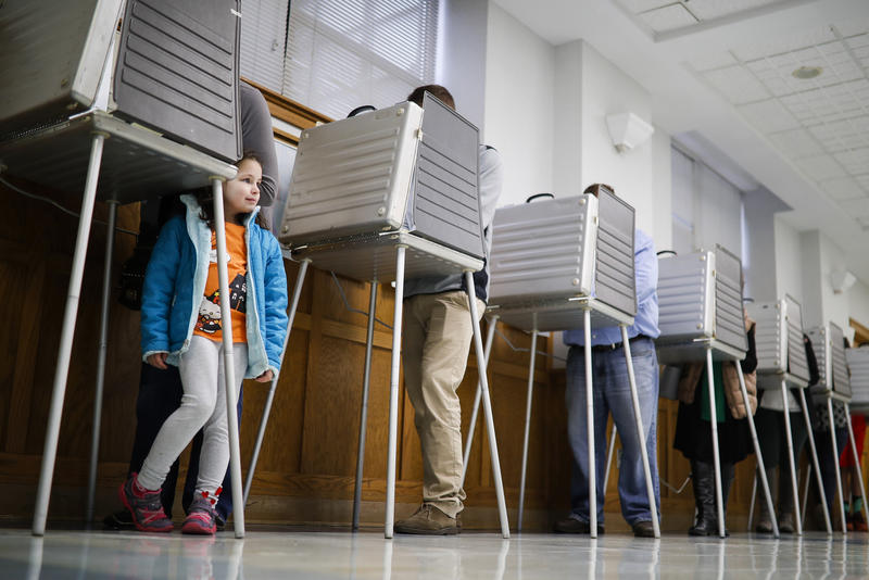 Election day 2016 in Cincinnati, Ohio.