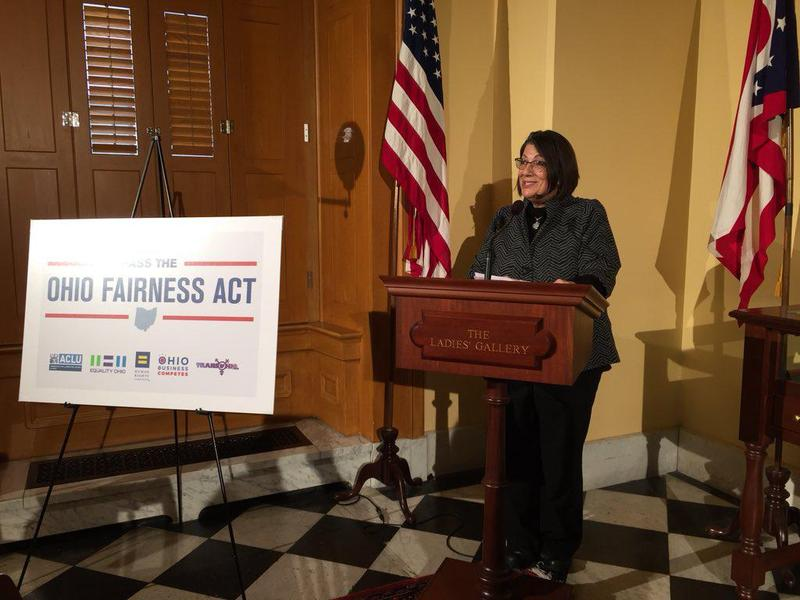 Rep. Nickie Antonio, a Democrat from Lakewood, discusses the latest push for her bill the Ohio Fairness Act, which extends protections against house and employment discrimination to LGBTQ people.