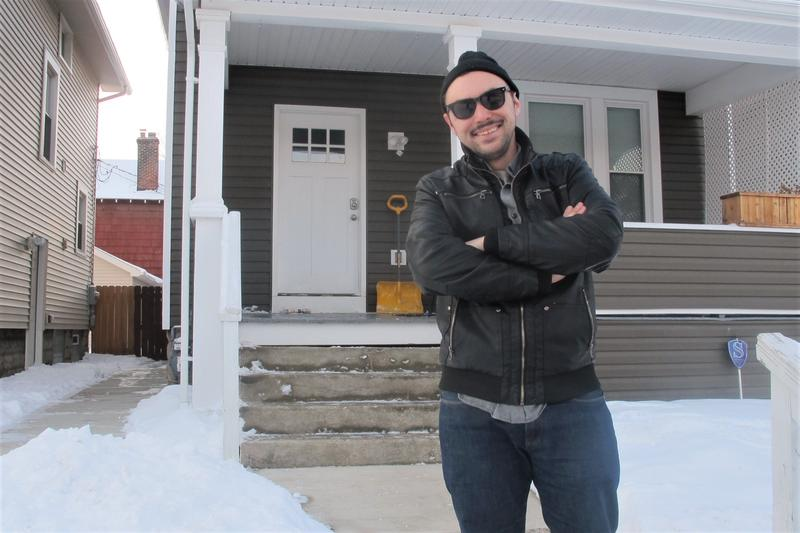Zach James runs an Airbnb property in Weinland Park. New regulations being considered by Columbus could limit how often he could rent out rooms.