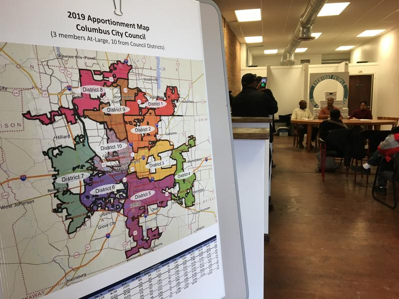 Unlike the failed ballot issue from 2016, this year, there's an official map illustrating the ten proposed districts that individual candidates will represent.