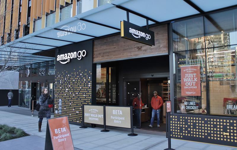 Amazon Go store in Seattle, Washington.