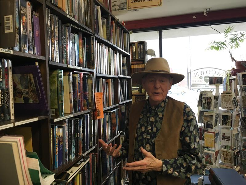 George Cowmeadow Bauman at Acorn Bookshop