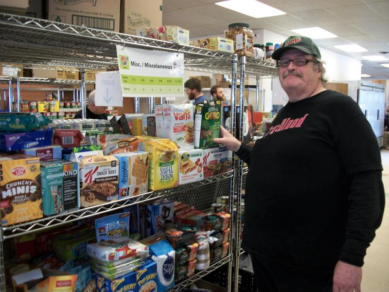 Edward Arnholt depends on a South Side pantry for food. It's one of several in Central Ohio that will move to online-only ordering.