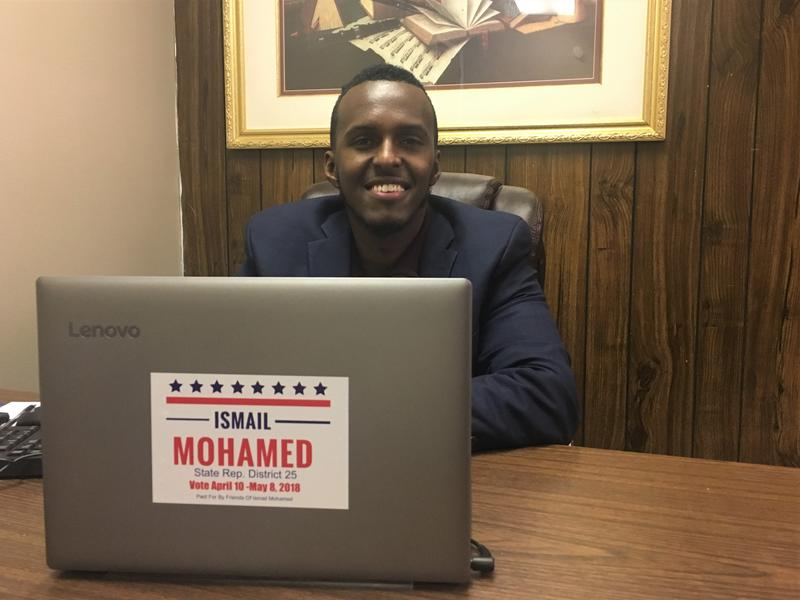 Ismail Mohamed, a candidate for Ohio's 25th House District, would be the state's first Somali-American legislator.