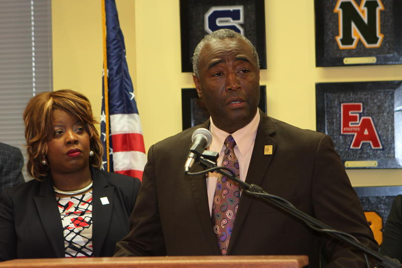 Columbus City Schools interim superintendent John Stanford