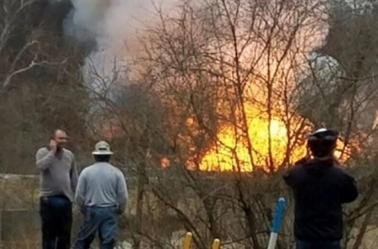 Evacuation orders are in place for residents in the Powhatan Point area after an explosion and fire at a well pad.