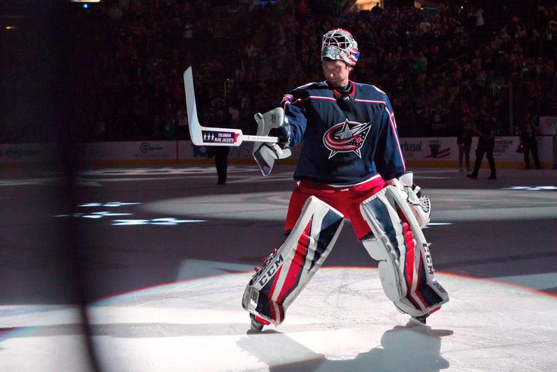 Goalie Sergei Bobrovsky scored his 24th career shutout Thursday night in a 4-0 victory over the Florida Panthers.