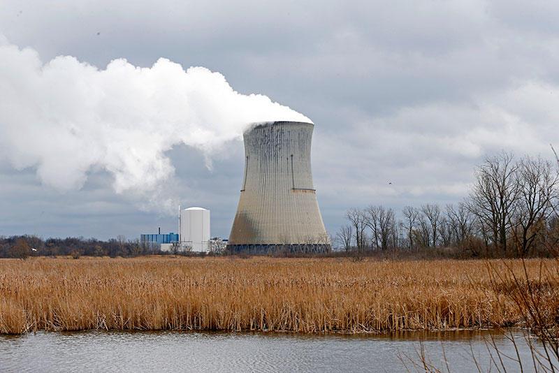 FirstEnergy Davis-Besse Nuclear Power Station in Oak Harbor, Ohio.
