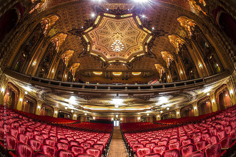 Interior of the Ohio Theatre