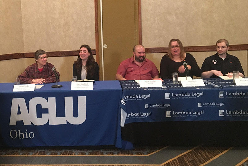 Supporters of the ACLU/Lambda Legal suit against Ohio say they should be able to change their birth certificates to reflect the gender with which they identify.