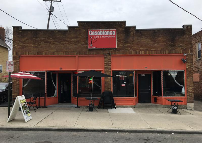 The Casablanca Cafe and Hookah Bar in Columbus.