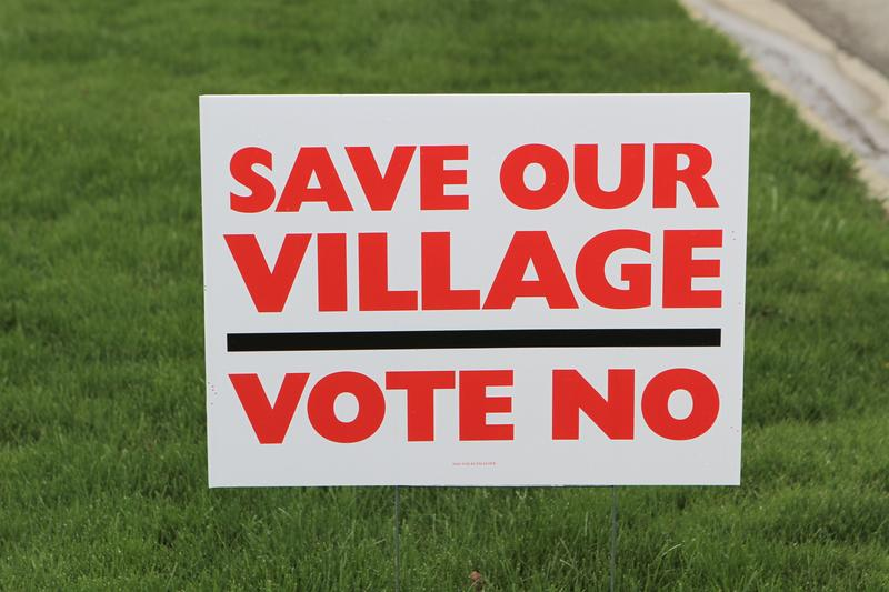 On May 8, voters in Alexandria, Ohio, will decide if the town should unincorporate.