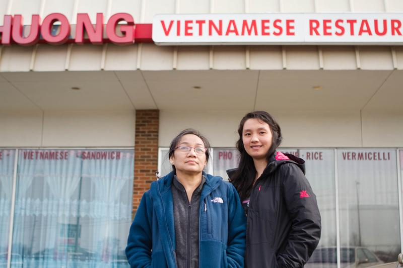 Huong Pham, the chef-owner of Huong Vietnamese, and her daughter Twee Win, who helps run the restaurant.