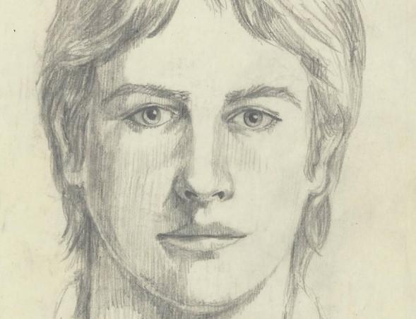 Primary composite sketch of Golden State Killer