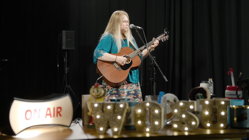 Lisa Gain was voted Columbus listeners' favorite local entry in the Tiny Desk Contest. She performed in the WOSU studios on April 30.