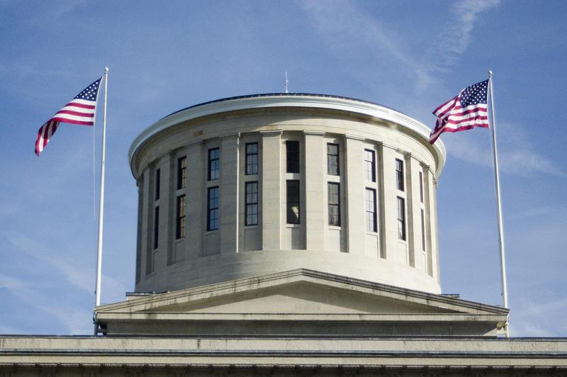 The Ohio Statehouse rotunda.