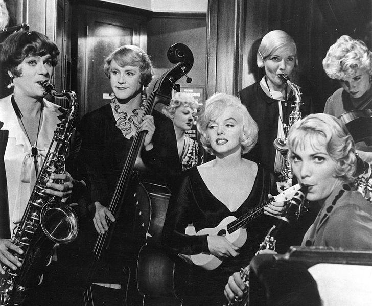 A still from the film Some Like It Hot, the first in the Summer Movie Series at the Ohio Theater.