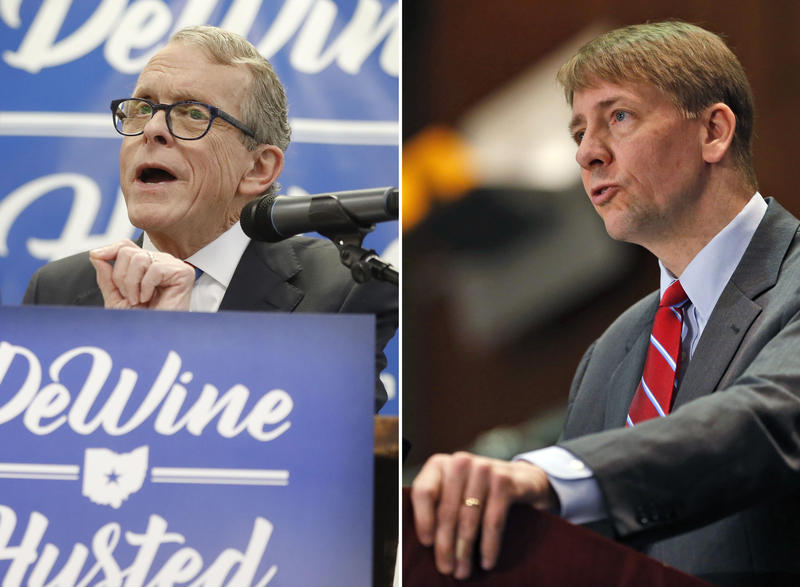 Mike DeWine and Richard Cordray