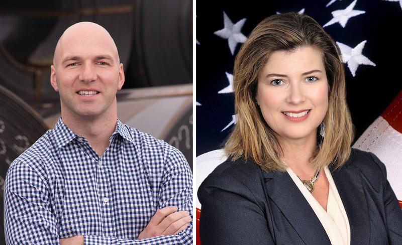 Anthony Gonzalez and Susan Moran Palmer are running in the open Congressional election for Ohio's 16th District.