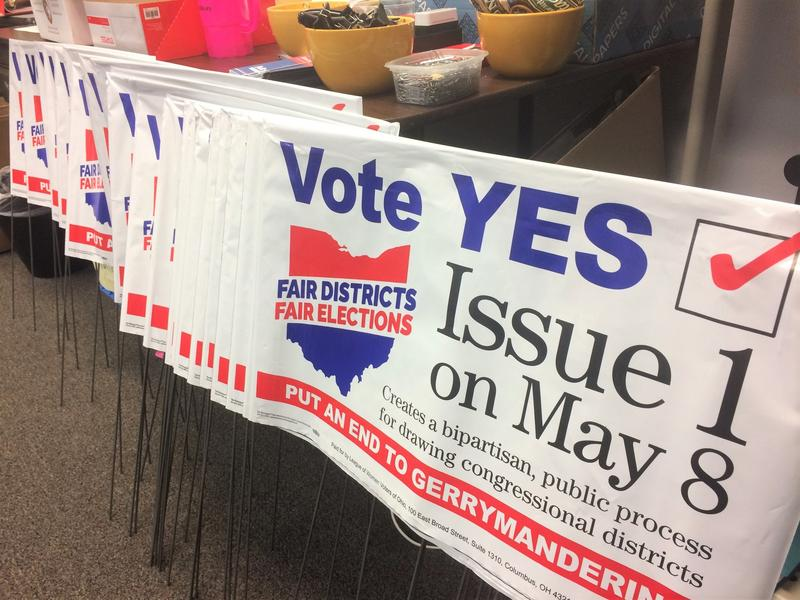 Citizen groups such as the Fair Districts Fair Elections coalition have been instrumental in pushing for Issue 1.
