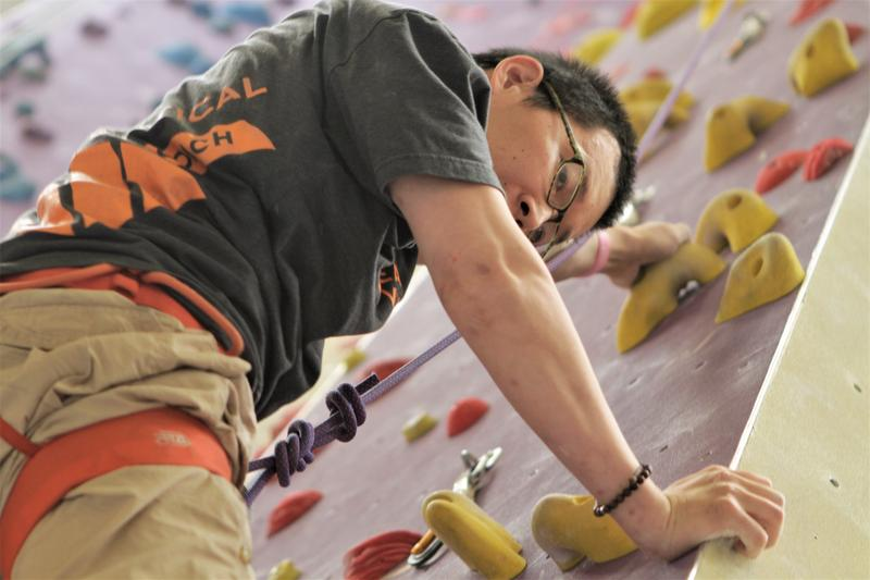 Jeremy Petrovich was once one of the top rock climbers in the country before becoming paralyzed. Now he's learning to climb again.