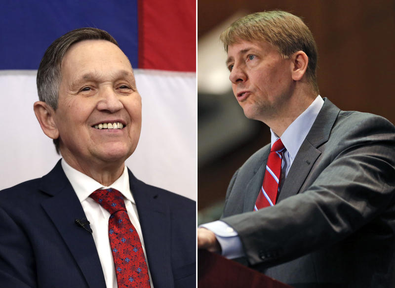 Dennis Kucinich and Richard Cordray