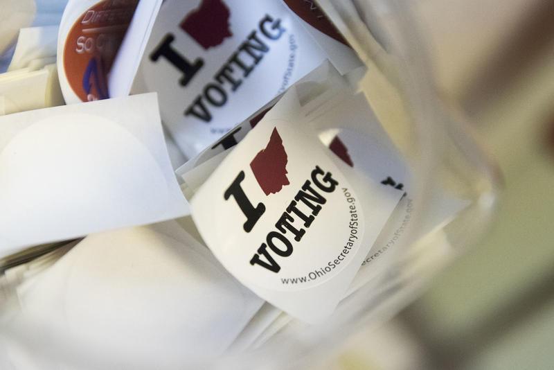 Ohio I Voted Stickers