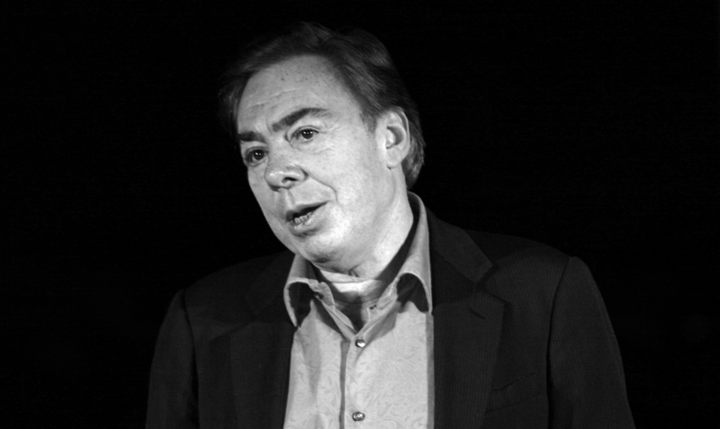 Andrew Lloyd Webber was photographed in September 2007 at the set of How Do You Solve a Problem Like Maria?
