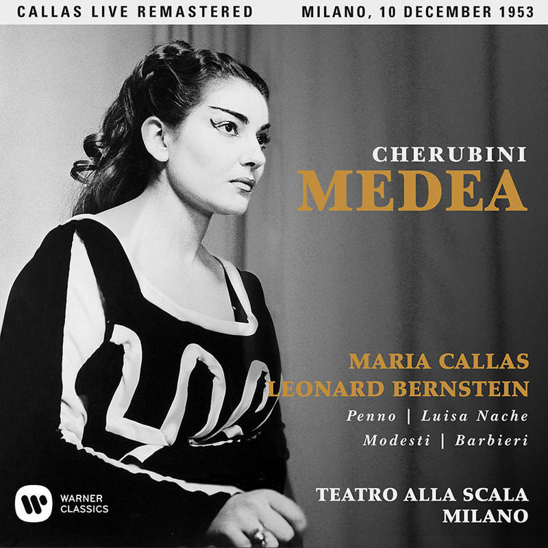 The opening-night recording of Medea, with Maria Callas and Leonard Bernstein