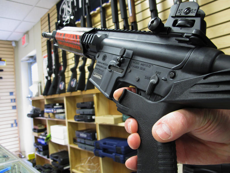 Columbus and Cincinnati both banned bump stocks, which can convert semiautomatic firearms into fully automatic ones.