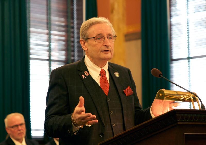 Senate Minority Leader Kenny Yuko