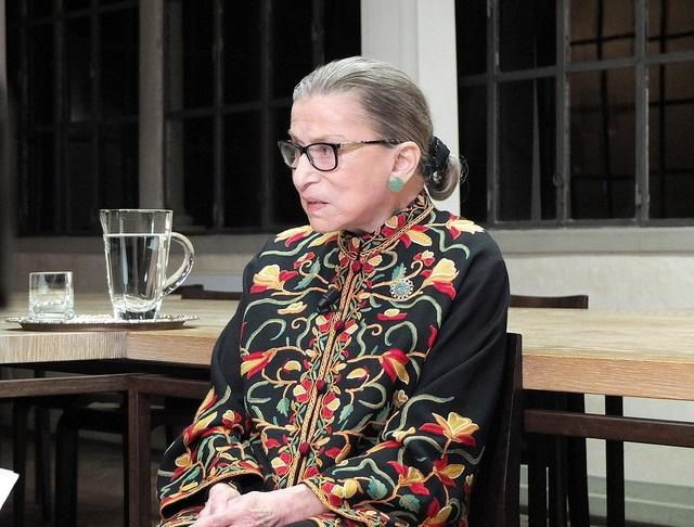 color photo of Ruth Bader Ginsburg