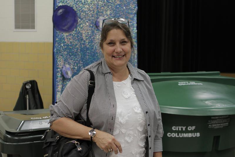 Hilltop activist Lisa Boggs.