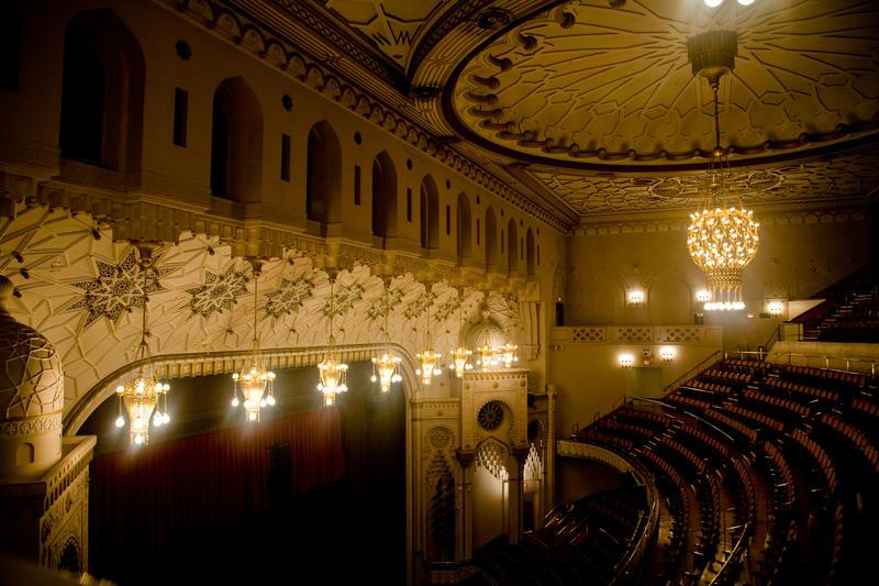 New York City Center's auditorium
