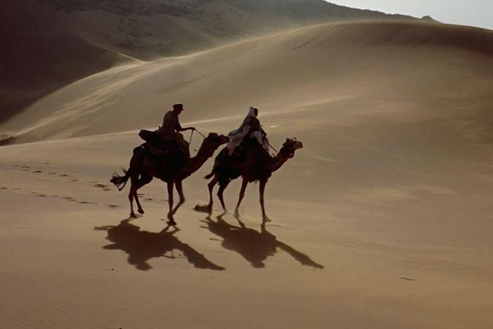 Scene from 1962 film Lawrence of Arabia