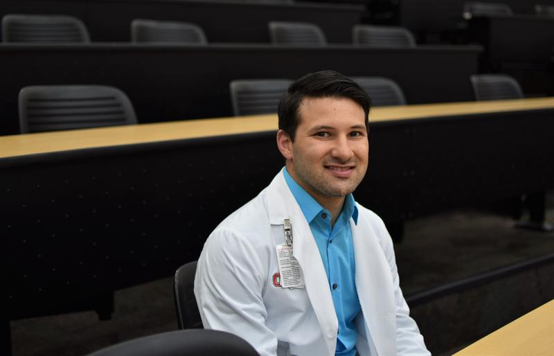 Miguel Ruiz is a second-year medical student at Ohio State and a graduate of the university's MEDPATH program.