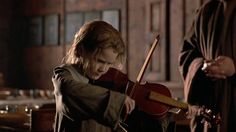 Scene from 1998 film The Red Violin