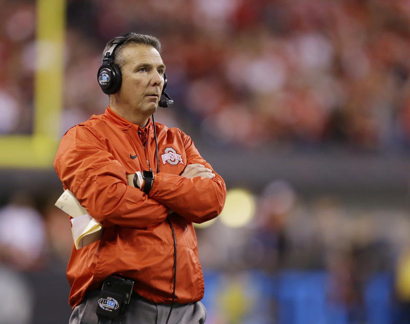 Ohio State football coach Urban Meyer