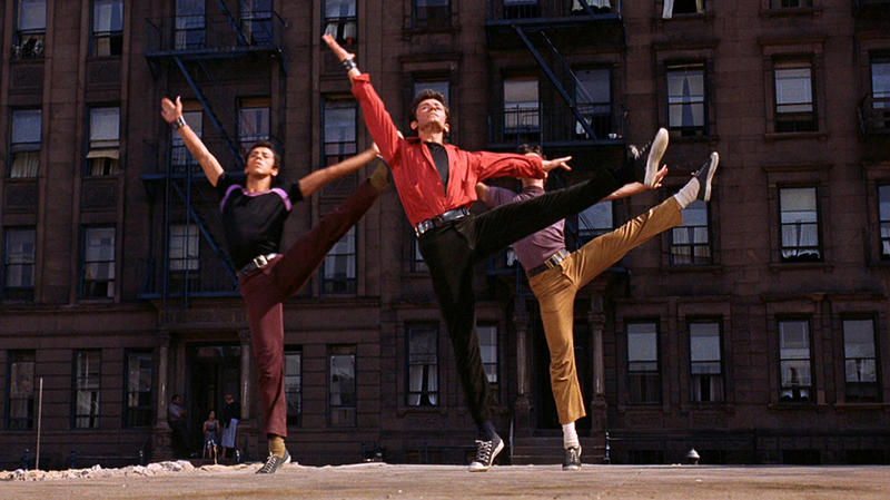 Scene from 1961 film West Side Story