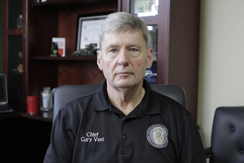 Powell Police Chief Gary Vest.