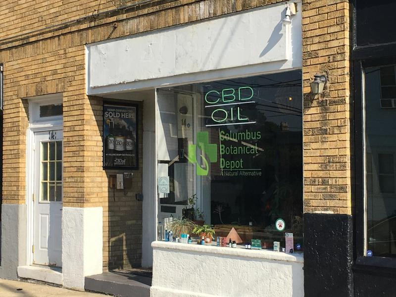 Columbus Botanical depot sells CBD oil, which the Ohio Pharmacy Board says is illegal.