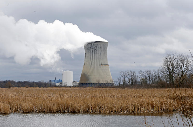 A nuclear plant run by FirstEnergy in Ohio.