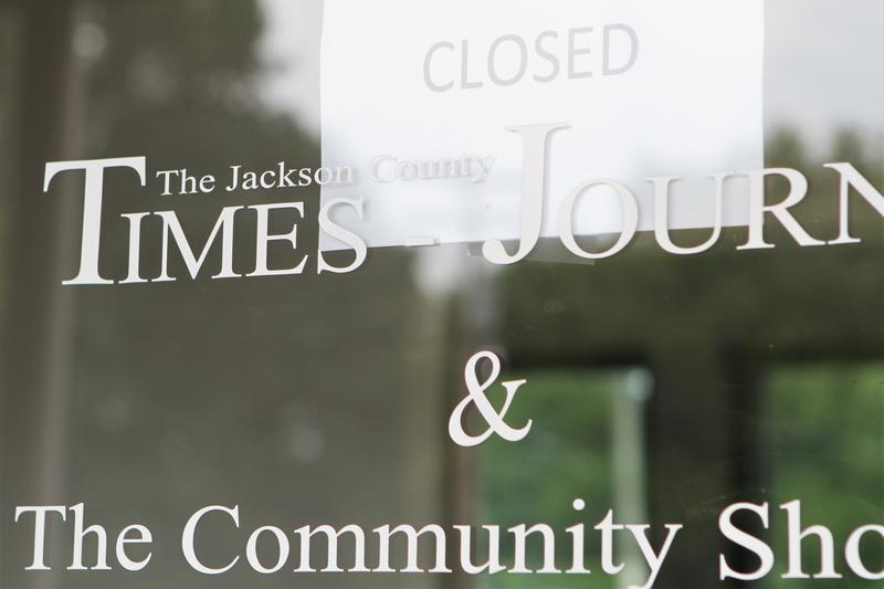 The Jackson County Times-Journal, which has been reporting in the area since 1847, closed last month. It's now folded into the nearby Vinton Courier.