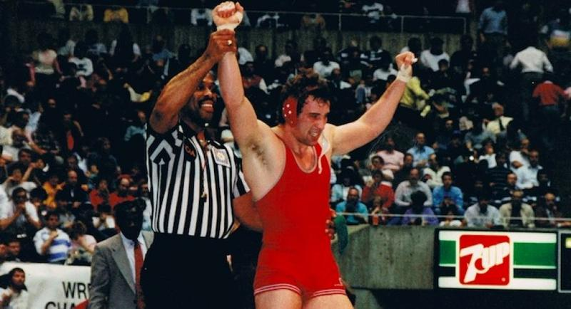Coleman wrestled for Ohio State in the late 1980s and later was an assistant coach there.