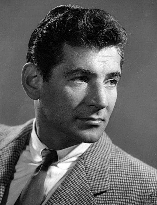 Leonard Bernstein in the 1950s