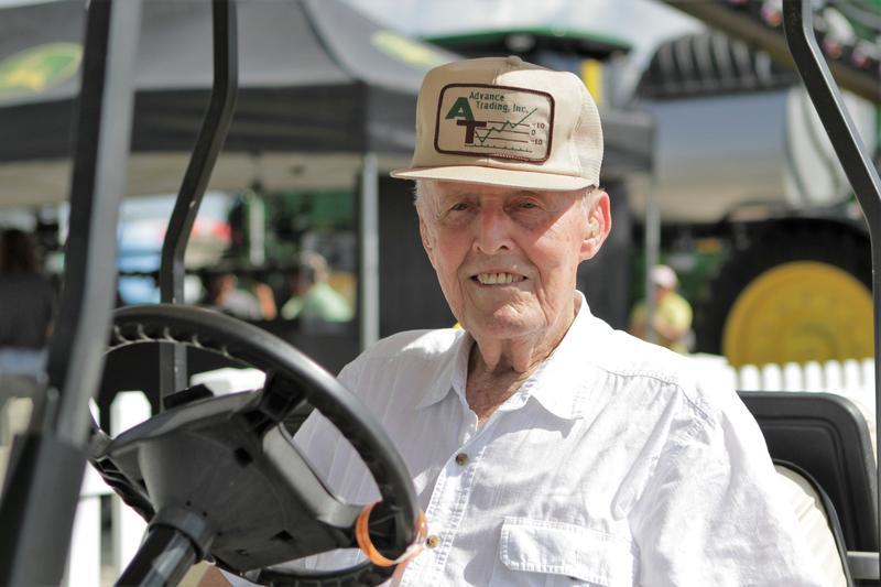 Farmer Joe Brubaker says tariffs imposed by China, in retaliation against U.S. tariffs, have hurt soybean prices.